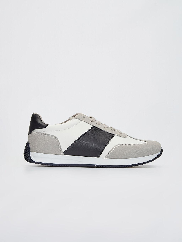 Beyaz Erkek Sneaker 0S6279Z8 LC Waikiki