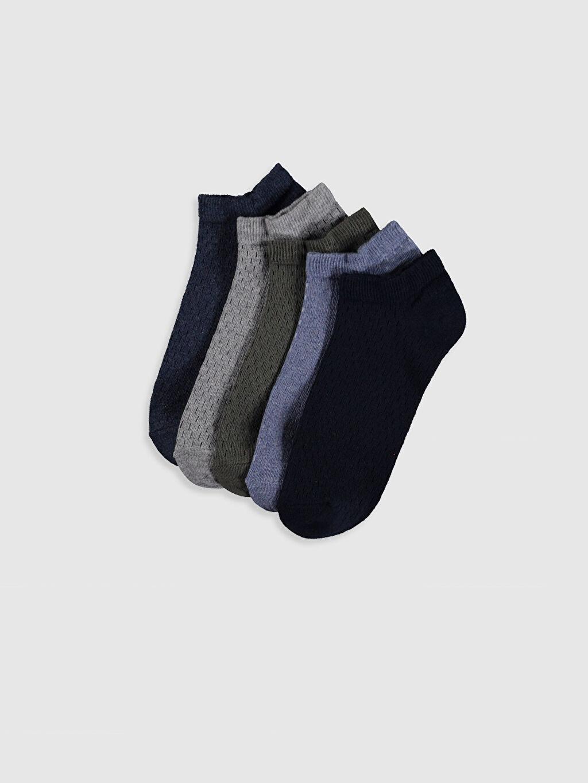 Çok Renkli Patik Çorap 5'li 0S6388Z8 LC Waikiki