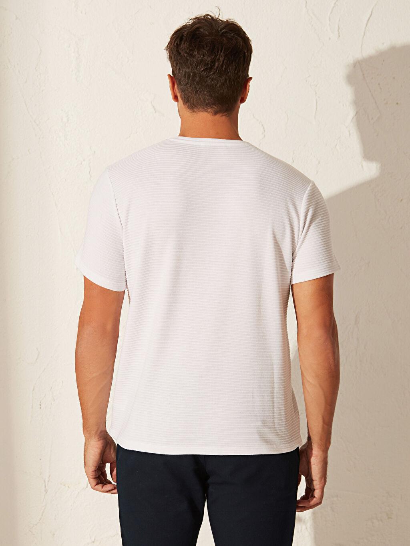 %100 Polyester Slim Fit Basic Tişört