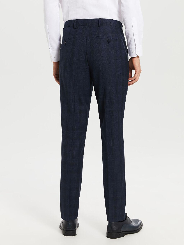 %66 Polyester %34 Viskoz Dar Kalıp Takım Elbise Pantolonu