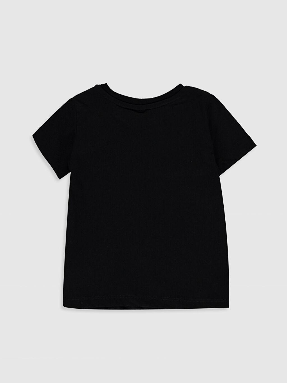 %100 Pamuk Standart Baskılı Kısa Kol Tişört Bisiklet Yaka Erkek Bebek Yazı Baskılı Pamuklu Tişört