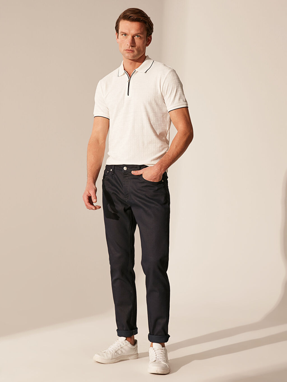 Siyah 757 Slim Fit Jean Pantolon 0S8890Z8 LC Waikiki