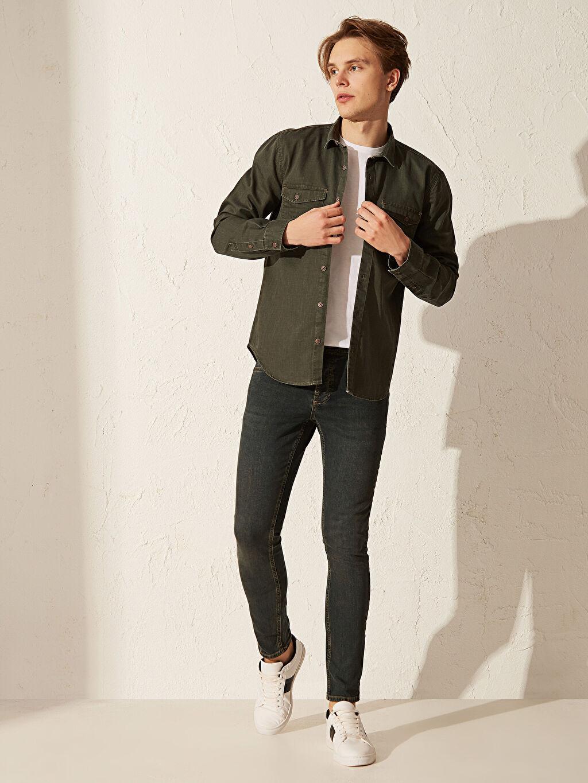 Yeşil 760 Skinny Fit Jean Pantolon 0S9815Z8 LC Waikiki