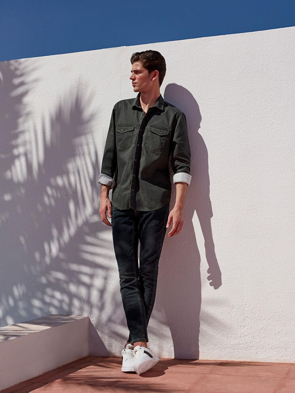 LC Waikiki Yeşil 760 Skinny Fit Jean Pantolon