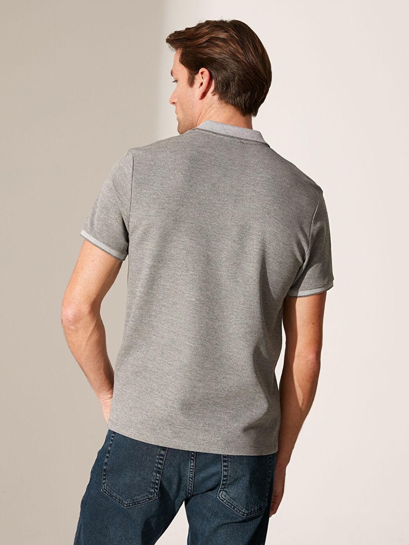 Erkek Polo Yaka Basic Triko Tişört