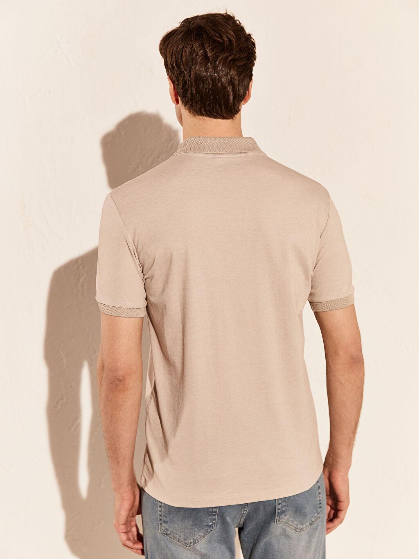 Erkek Polo Yaka Basic Tişört