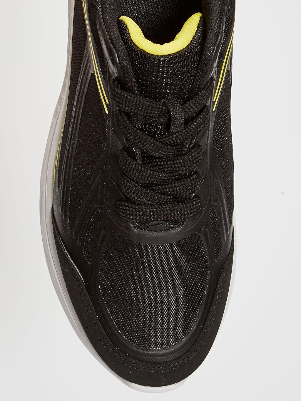 LC Waikiki Siyah Erkek Bağcıklı Aktif Spor Ayakkabı