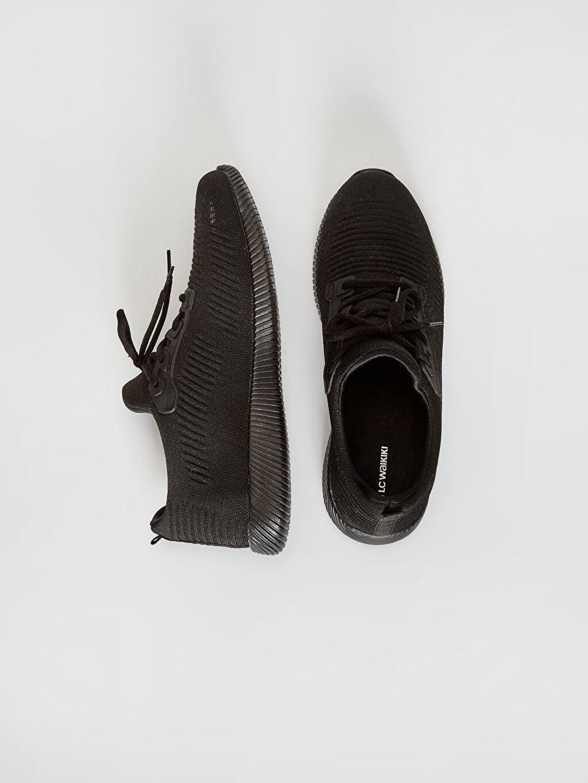 %0 Tekstil malzemeleri ( %100 polyester)  Erkek Slip On Aktif Spor Ayakkabı