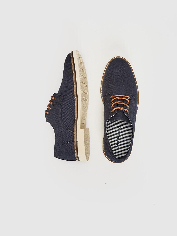 %0 Tekstil malzemeleri(%100 pamuk)  Erkek Klasik Derby Ayakkabı