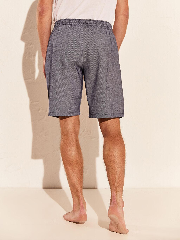 %36 Pamuk %64 Polyester Standart Kalıp Şort Pijama Altı