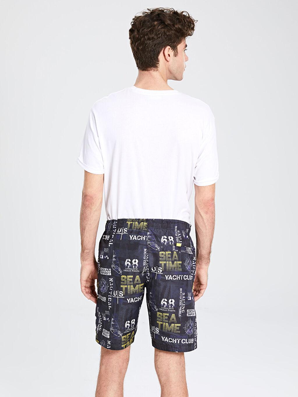 %100 Polyester Kısa Boy Standart Kalıp Deniz Şortu