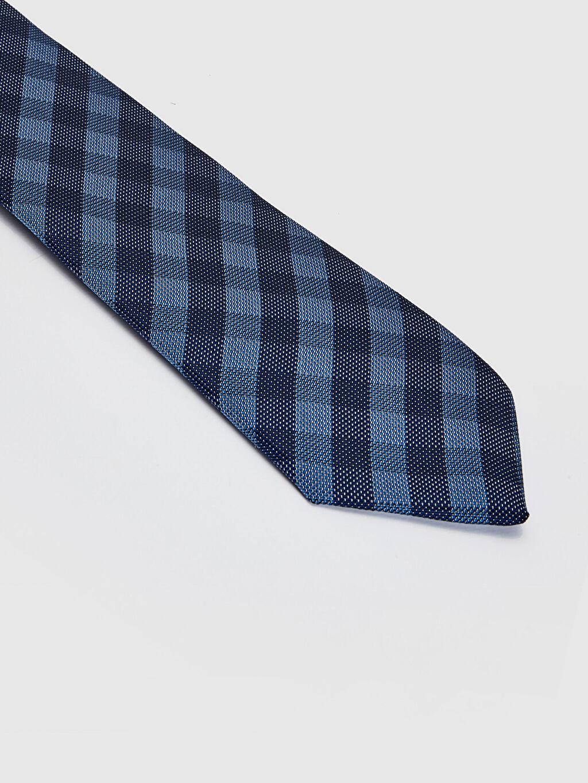 %100 Polyester  Ekose Vual Kravat