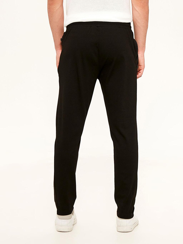 %61 Polyester %35 Viskon %4 Elastan Slim Fit Poliviskon Pantolon