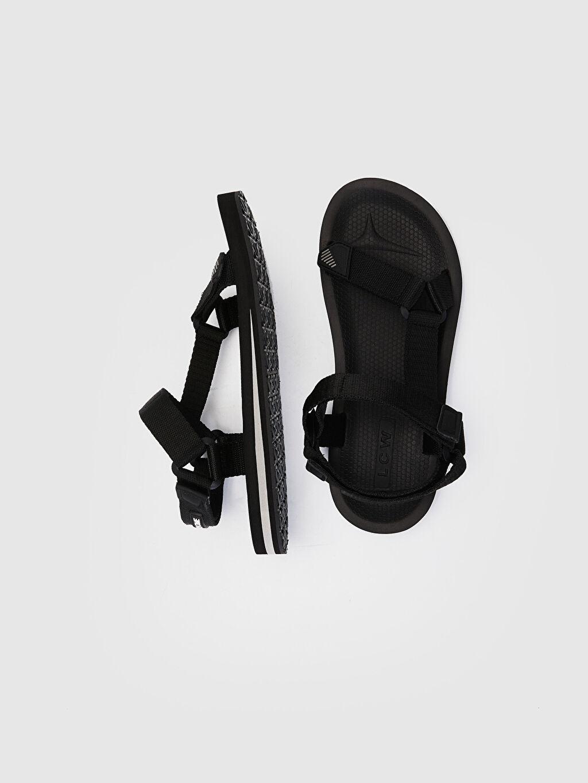 Erkek Cırt Cırtlı Sandalet