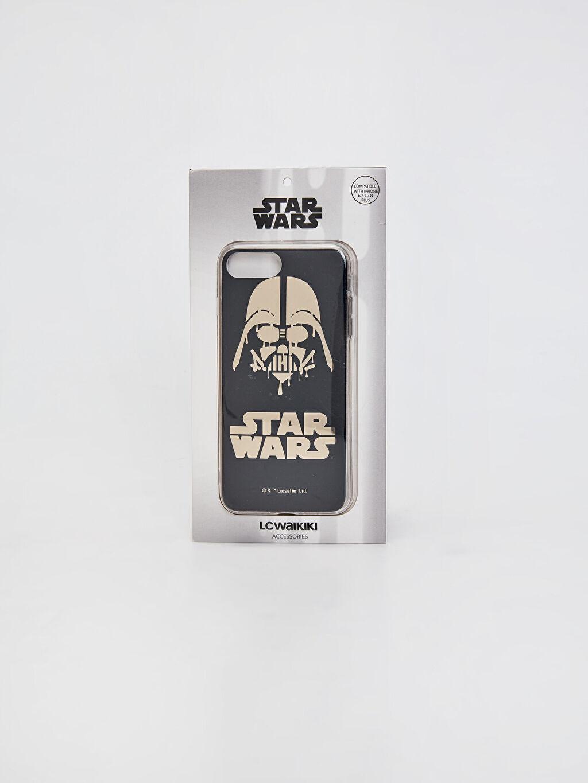 Çok Renkli Star Wars Baskılı Silikon Telefon Kılıfı 0SL055Z8 LC Waikiki
