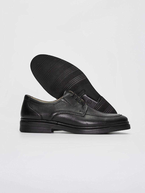 Erkek Erkek Hakiki Deri Derby Ayakkabı