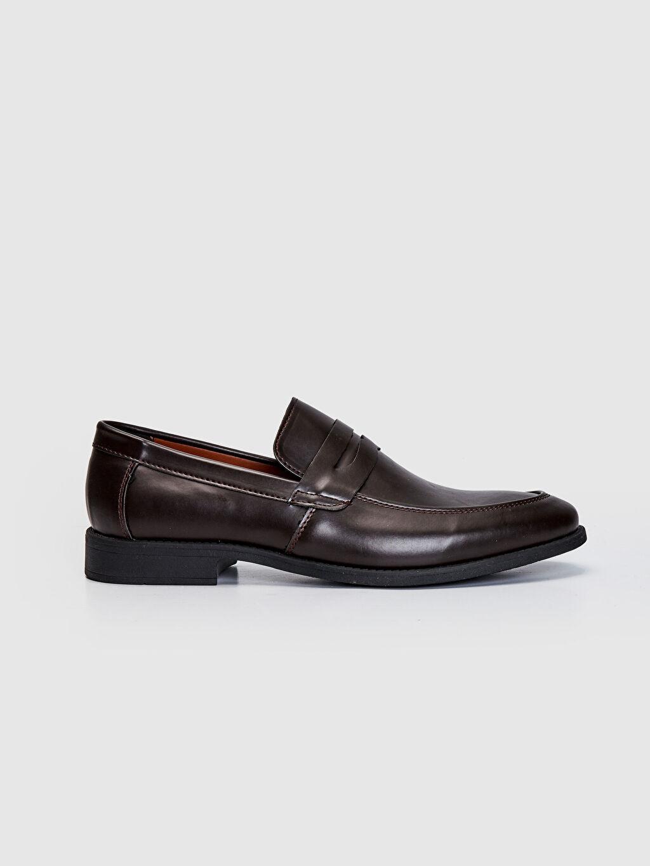 Kahverengi Erkek Klasik Loafer Ayakkabı 0SN493Z8 LC Waikiki