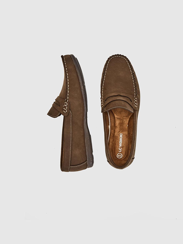 Diğer malzeme (pvc)  Erkek Loafer Ayakkabı