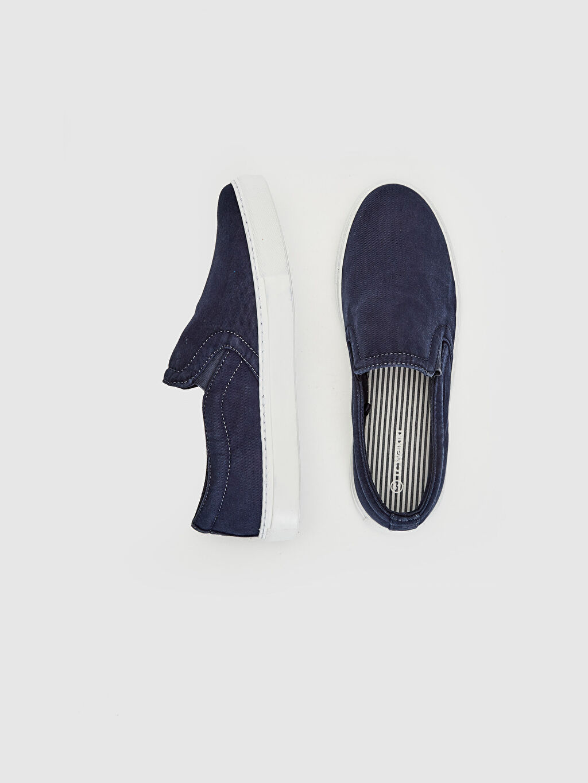 Tekstil malzemeleri Ayakkabı Erkek Slip On Ayakkabı