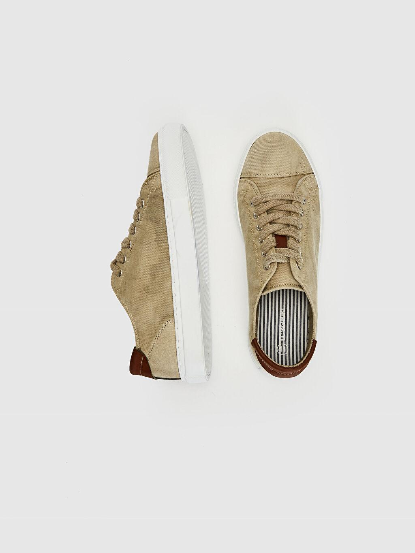 Tekstil malzemeleri Diğer malzeme (poliüretan) Ayakkabı Erkek Sneaker