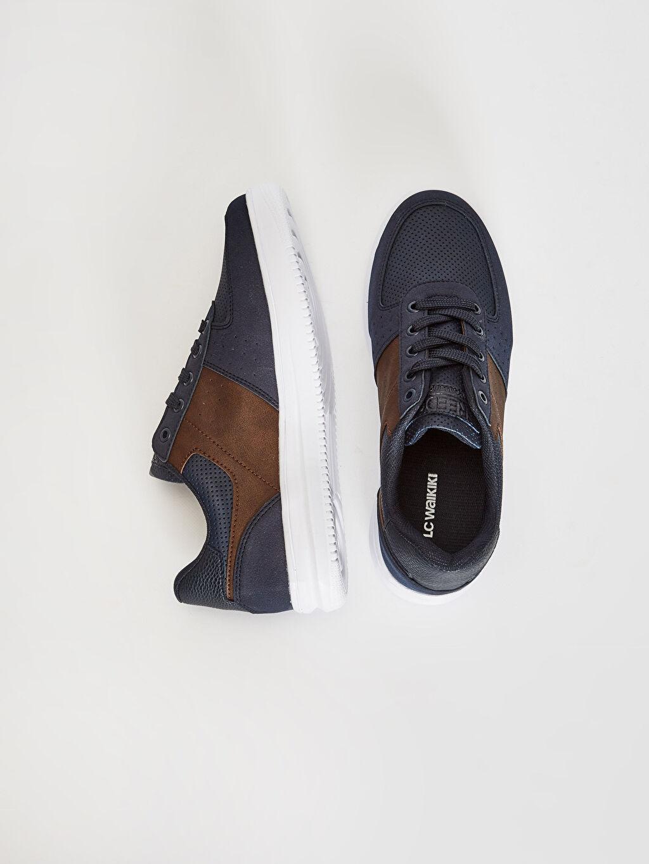 Diğer malzeme (pvc) Ayakkabı Erkek Bağcıklı Günlük Ayakkabı