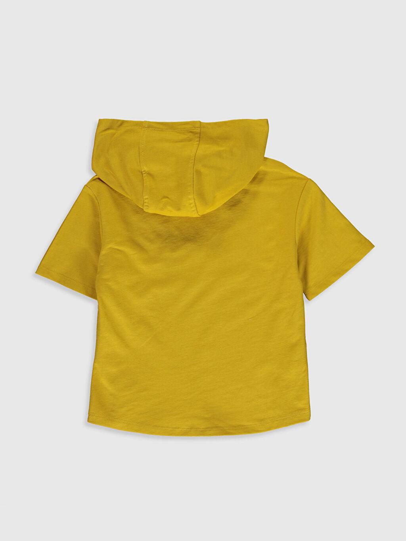 %81 Pamuk %19 Polyester  Erkek Çocuk Kısa Kollu Sweatshirt