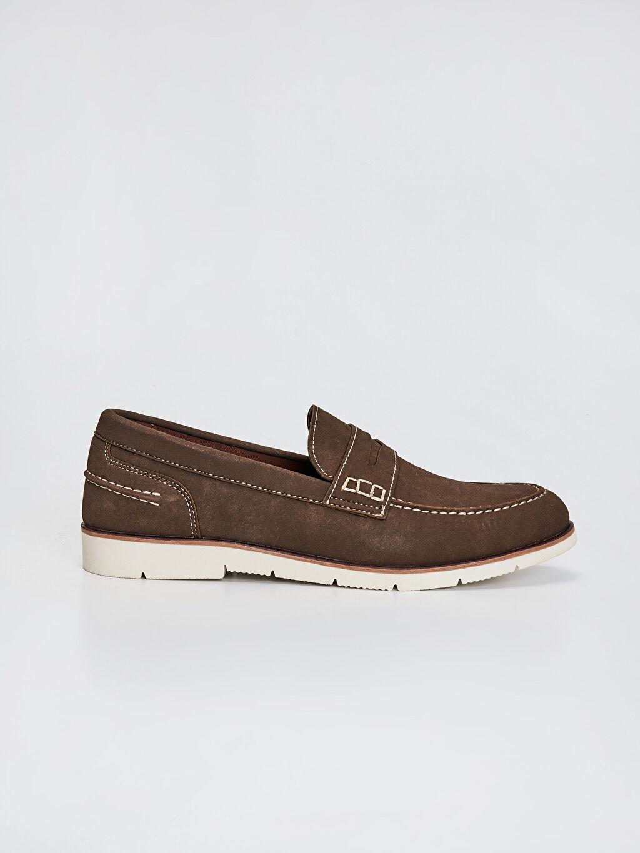 Kahverengi Erkek Klasik Loafer Ayakkabı 0SA117Z8 LC Waikiki