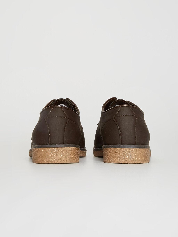 Erkek Bağcıklı Klasik Derby Ayakkabı