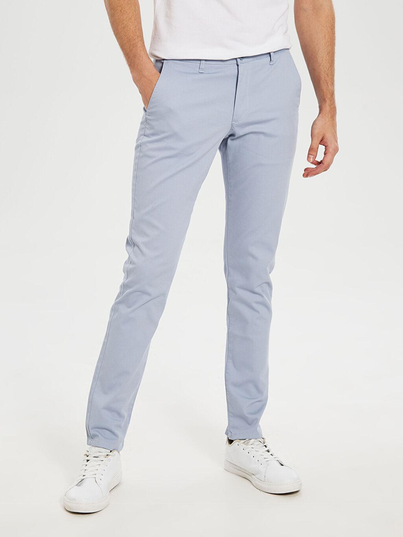 Erkek Slim Fit Bilek Boy Pantolon
