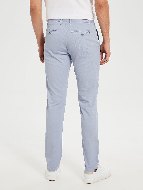 %98 Pamuk %2 Elastan Slim Fit Bilek Boy Pantolon