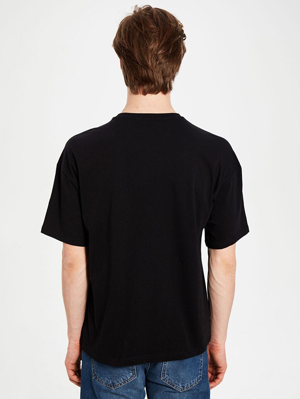 Erkek Boxy Fit Basic Tişört