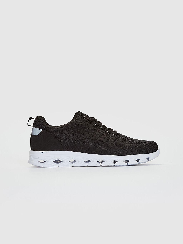 Siyah Erkek Günlük Spor Ayakkabı 0SD050Z8 LC Waikiki