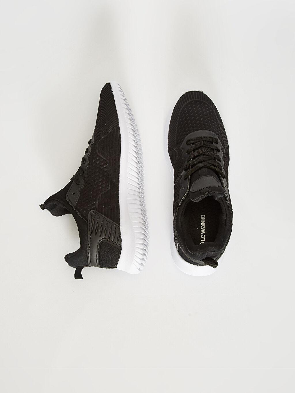 %0 Diğer malzeme (pvc) %0 Tekstil malzemeleri (%100 poliester)  Erkek Slip On Sneaker