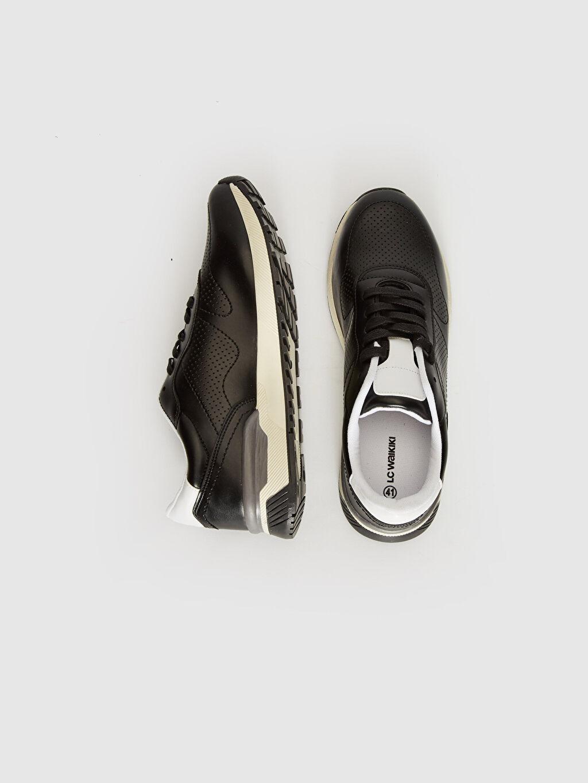 %0 Diğer malzeme (pvc)  Erkek Sneaker