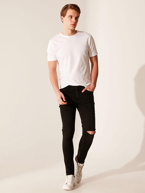 Siyah 760 Skinny Fit Jean Pantolon 0ST123Z8 LC Waikiki