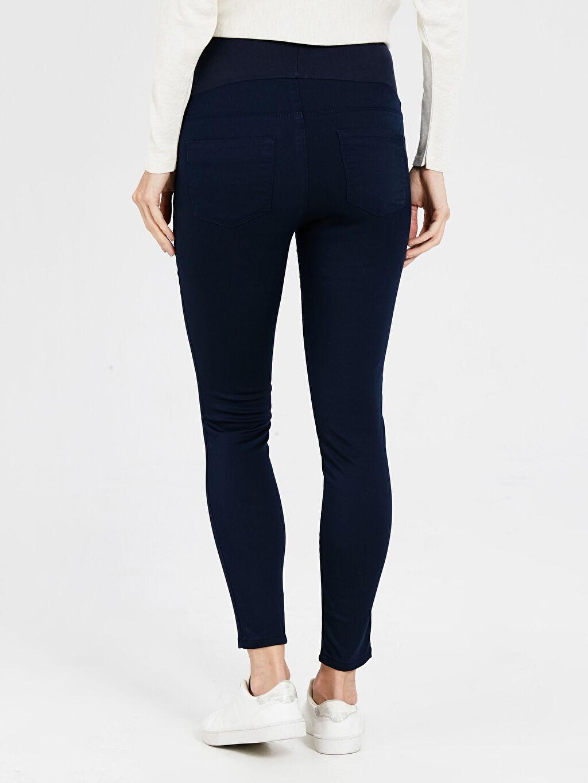 %67 Pamuk %29 Polyester %4 Elastan Skinny Hamile Pantolon