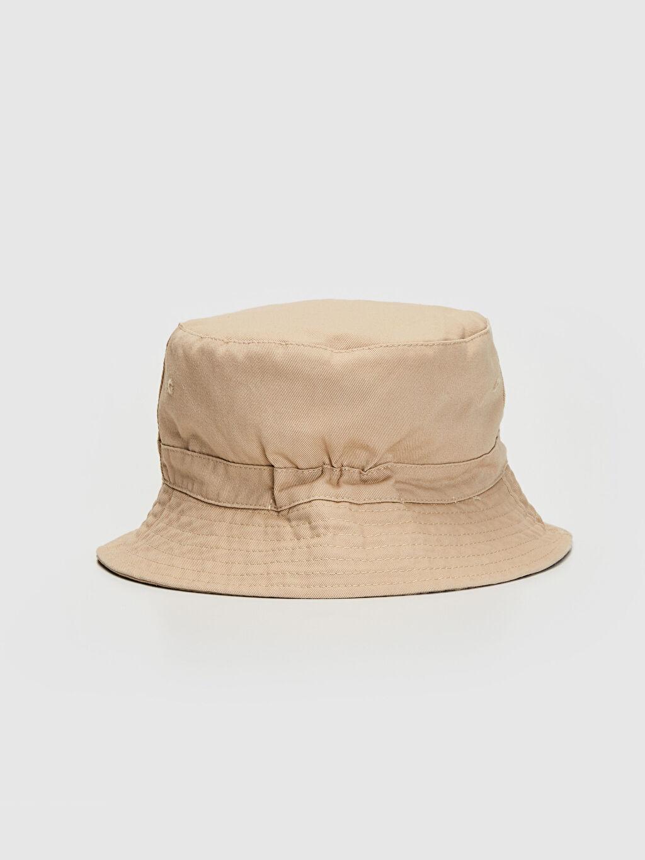 Bej Gabardin Bucket Şapka 0S1665Z8 LC Waikiki