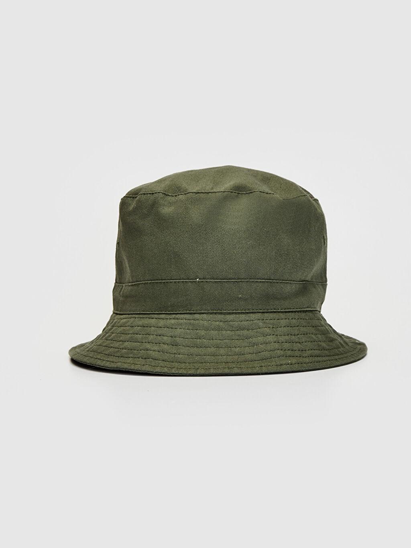Haki Gabardin Bucket Şapka 0S1665Z8 LC Waikiki