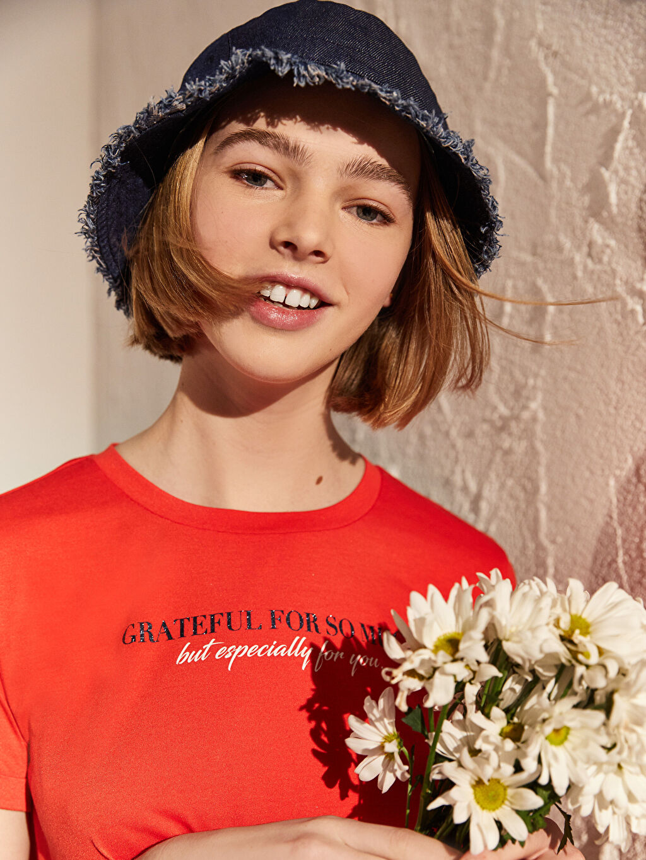 Kadın Gabardin Bucket Şapka