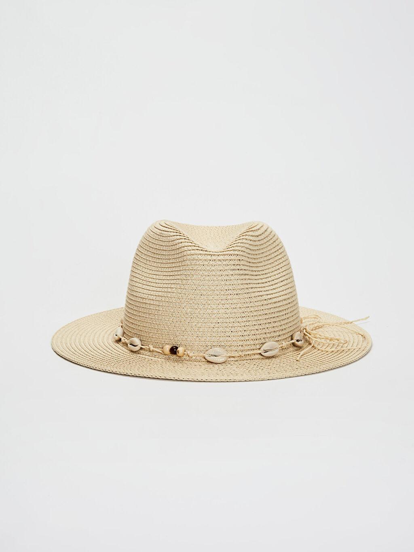 %18 Poliester %82 Kağıt  Hasır Şapka