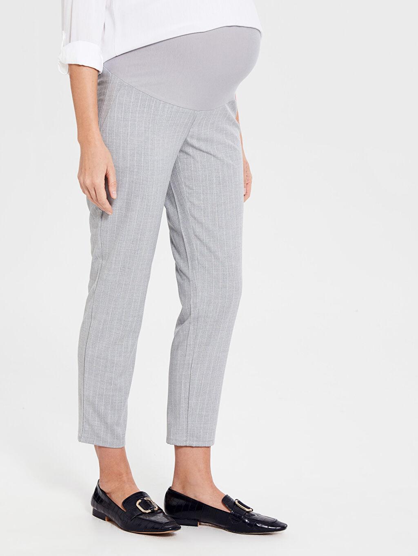 Kadın Hamile Çizgili Pantolon
