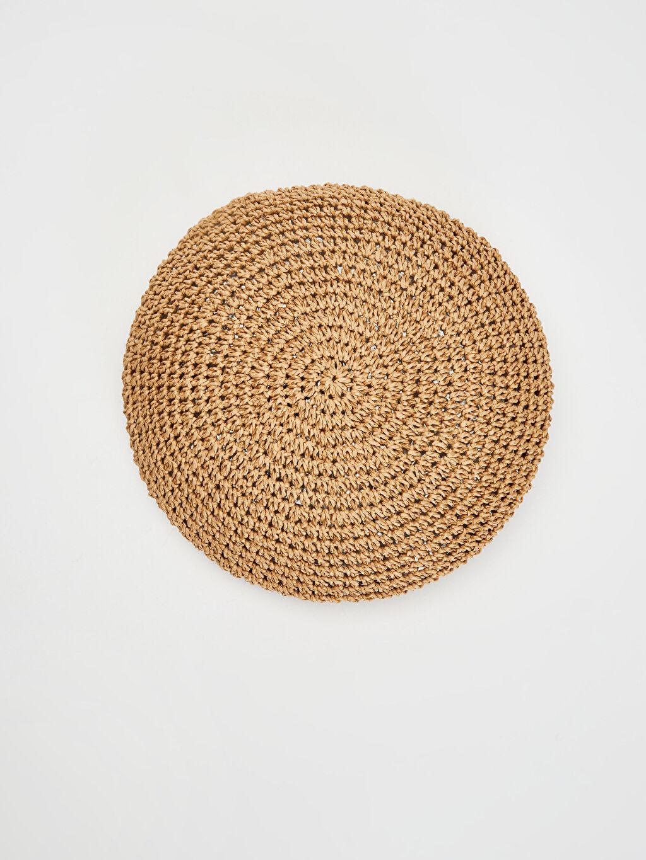 %100 Kağıt  Hasır Ressam Şapka
