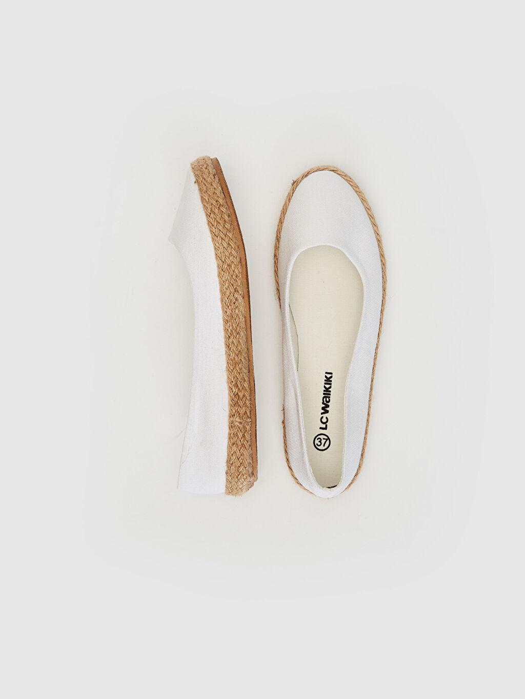 Tekstil malzemeleri Tekstil malzemeleri  Kadın Espadril Babet Ayakkabı