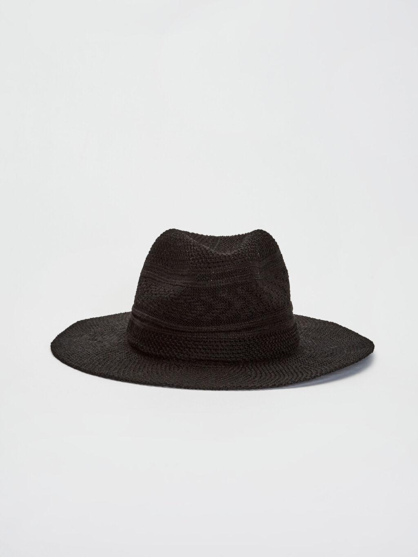 %100 Polyester  Hasır Fötr Şapka
