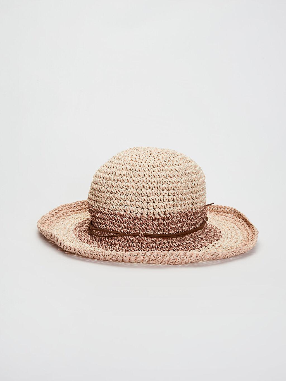 %100 Kağıt  Hasır Fötr Şapka