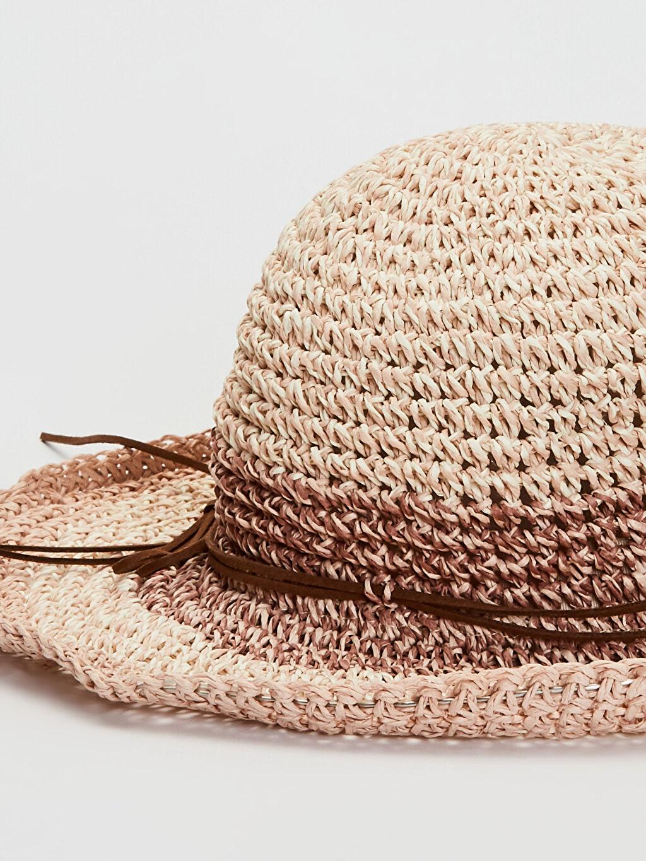 Kadın Hasır Fötr Şapka