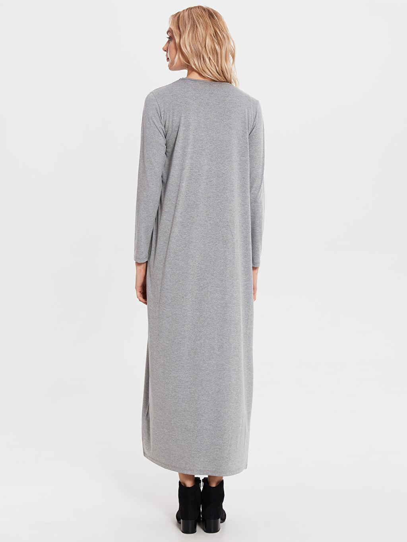 Kadın Uzun Viskon Elbise