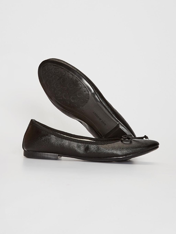 Kadın Kadın Fiyonk Detaylı Babet Ayakkabı