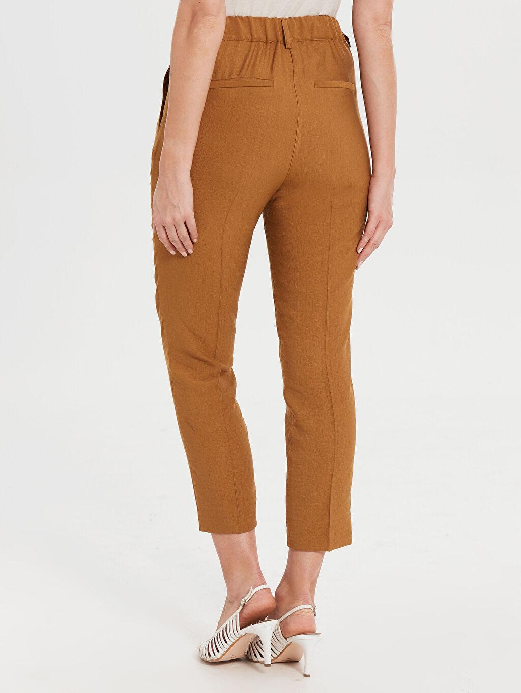 Kadın Bilek Boy Havuç Pantolon