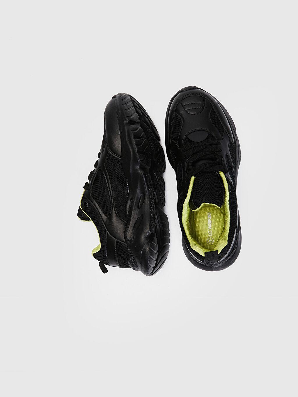 Tekstil malzemeleri Diğer malzeme (poliüretan) Tekstil malzemeleri Ayakkabı Kadın Aktif Spor Ayakkabı